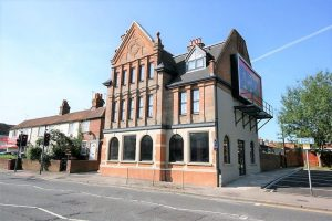 Pub conversion into 10 x 1 bed flats and retail unit